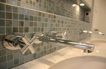 Klassiek moderne badruimte
