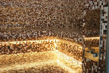 Uitgelicht archieven gatto mosaicisti - Donker mozaieken badkamer ...