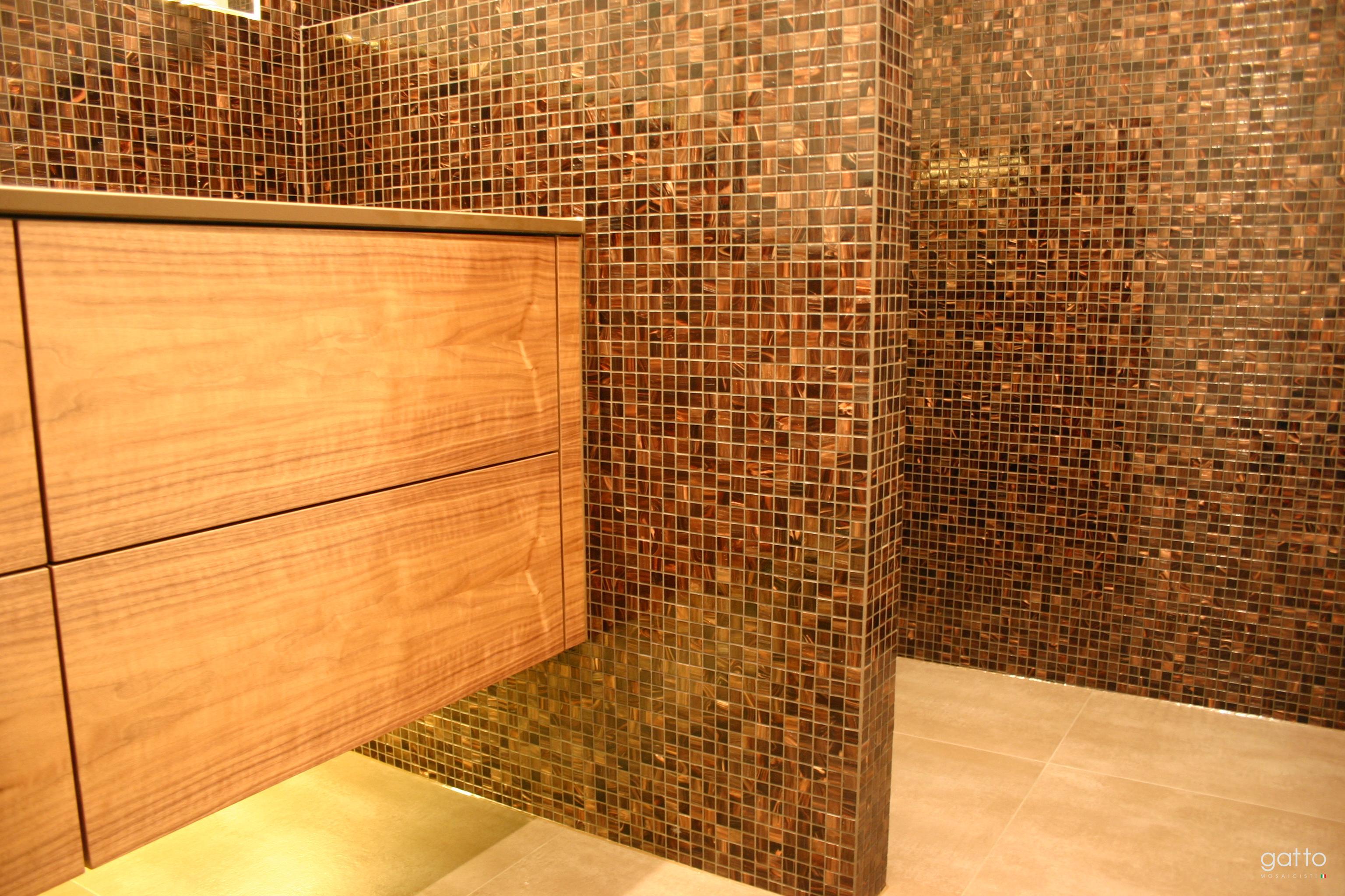 wit gouden douche amsterdam zuid gatto mosaicisti