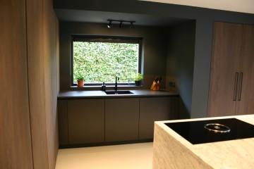 Carrara en Eiken keuken
